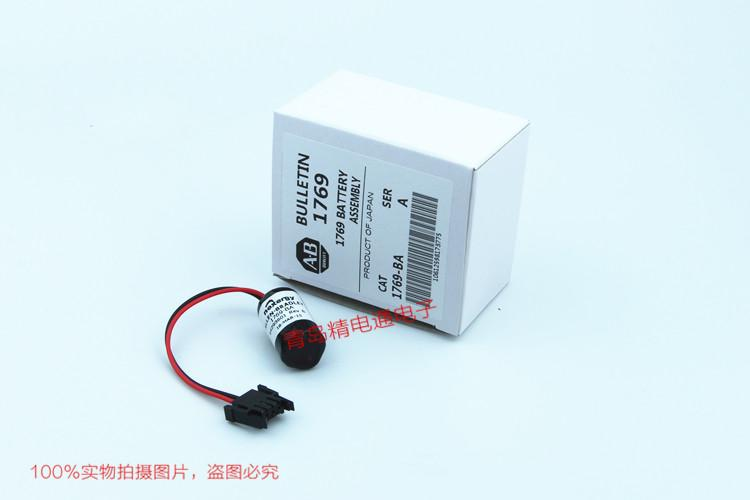 美国AB 1769-BA 3V  PLC锂电池 原包装 12