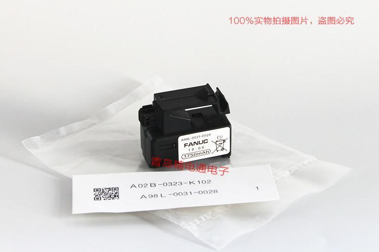 A98L-0031-0028 A02B-0323-K102 FANUC 发那科CNC 锂电池 7
