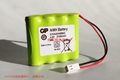 Equipment 210AAH4B6Z GP 4.8 V battery 2100 mah GP rechargeable battery pack