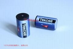 韩国 TEKCELL 锂亚电池 带电容 SB-D02 3.6V + 5v 1.5f KORCHIP