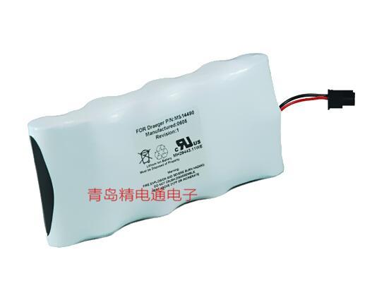 德尔格MS14234/14490/18340/SC6002XL监护仪锂电池 1