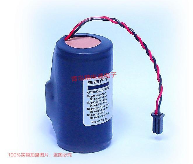 SAFT法国LS33600B  电池 D型 3.6V 17 Ah D-size 6