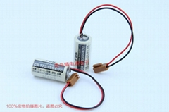 CR17335SE 带插头 焊片 焊脚 FDK 富士 锂电池