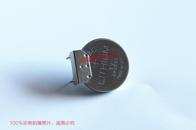 ML2430 ML2430-TT2 单体 带焊片 带插头 SANYO三洋 3V 充电纽扣电池 5