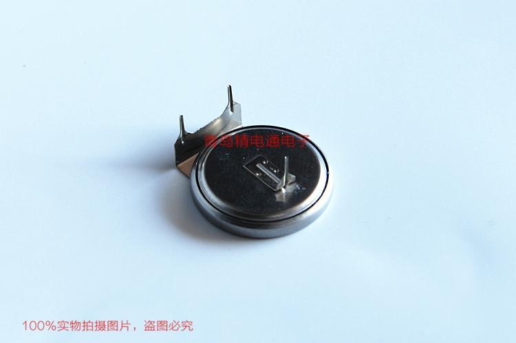 ML2430 ML2430-TT2 单体 带焊片 带插头 SANYO三洋 3V 充电纽扣电池 15