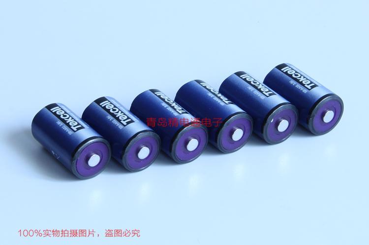 SB-AA02 韩国 Tekcell ER14250,1/2AA,3.6V 仪表 PLC 锂电池 2