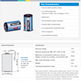 SB-AA02 韩国 Tekcell ER14250,1/2AA,3.6V 仪表 PLC 锂电池 6