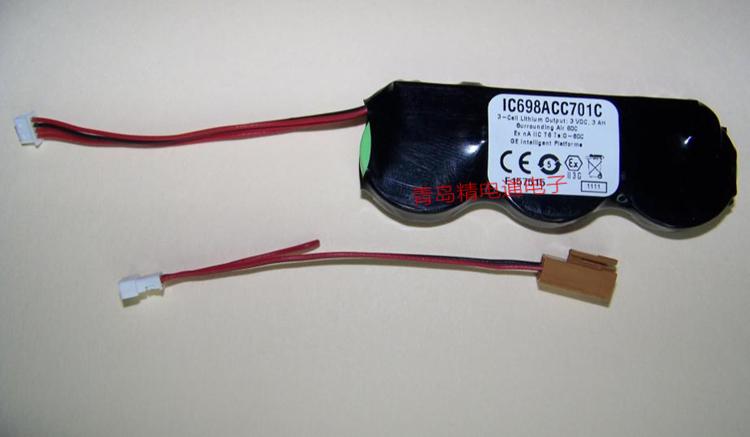 IC698ACC701C GE发那科CNC专用锂电池 18