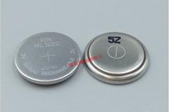 ML1220 单体 可带焊脚 插头 富士FDK 锂电池 3V充电纽扣电池
