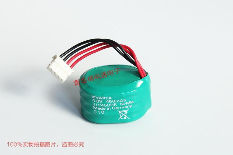 4/V450HR VARTA 瓦尔塔 带插头 充电电池组 4.2V 450mAh 12
