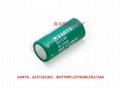 CR2/3AA CR14335 VARAT  3V lithium battery
