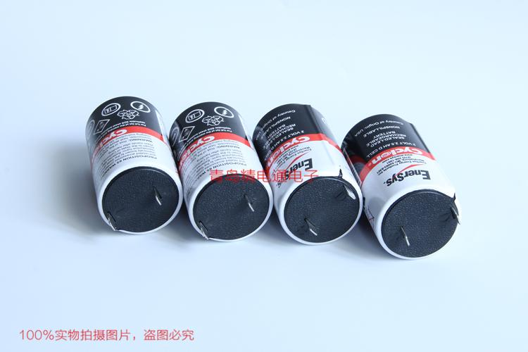 0810-0004 Cyclon EnerSys 西科龙 2V 2.5Ah 铅锂电池 ER17330VPE +JAE插头 2