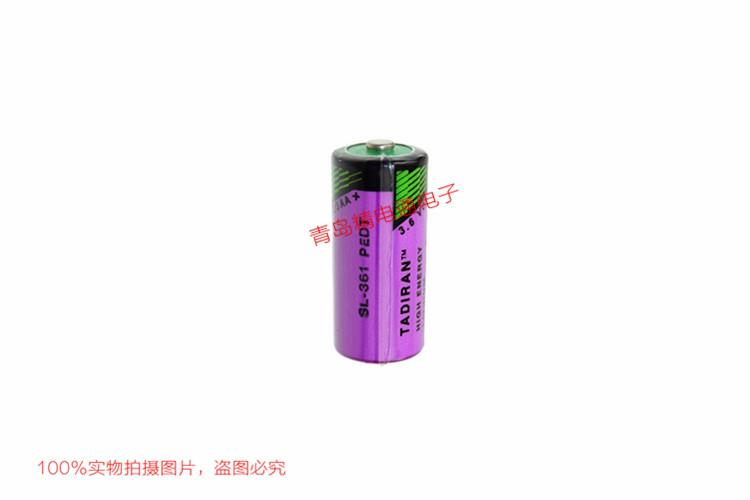 SL-361 2/3AA 塔迪兰 TADIRAN 锂电池 按要求 加工 插头 焊脚 3