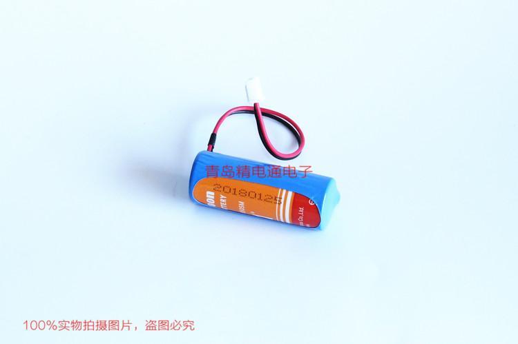 ER18505M 3.6V 锂亚硫酰氯电池 水表电池 9