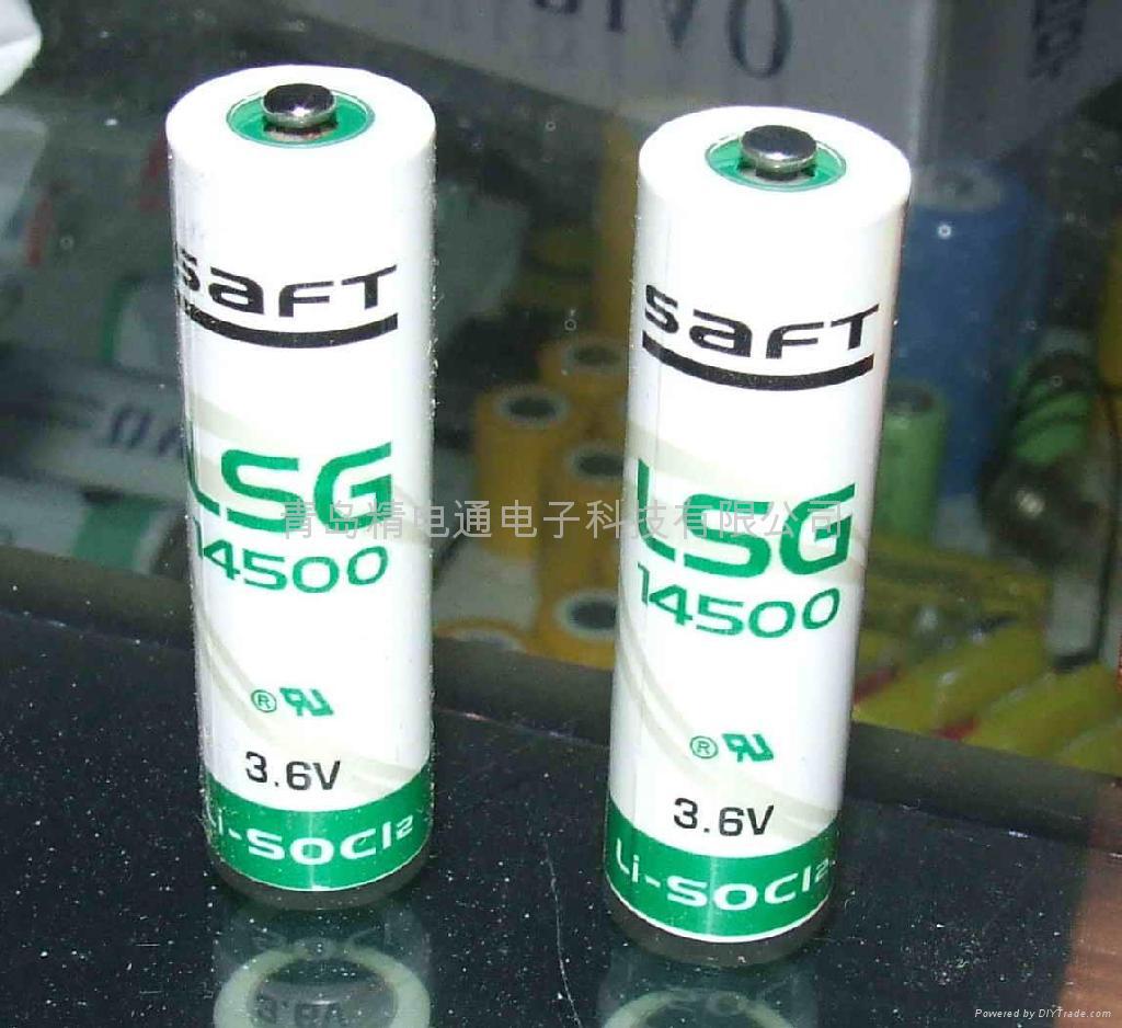 法国SAFT锂电池 LS14500G AA-size 3.6V 2450mAh 4