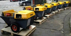 Piston Pump Mortar Plastering Machine/ Mortar Spraying Pump