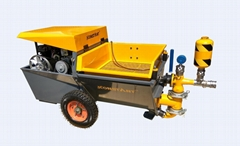 Piston Pump Mortar Plastering Machine/