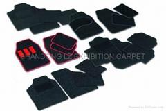 car mat: PVC nail,TPR Na