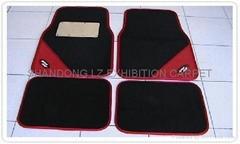 Eco-friendlycarpet 4PC/set car floor mat size: front 44*68cm, rear 44*34cm