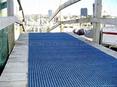 100% polypropylene carpet suit for heavy traffic areas like car showrooms and ga