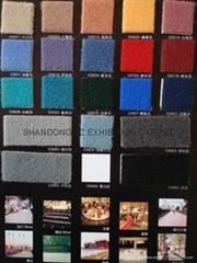 Exhibition Velour carpet, Cord Carpet, Wedding Aisle carpet,Red Carpet Runner