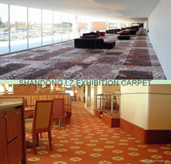 100% polyester High definition printing wall to wall carpet