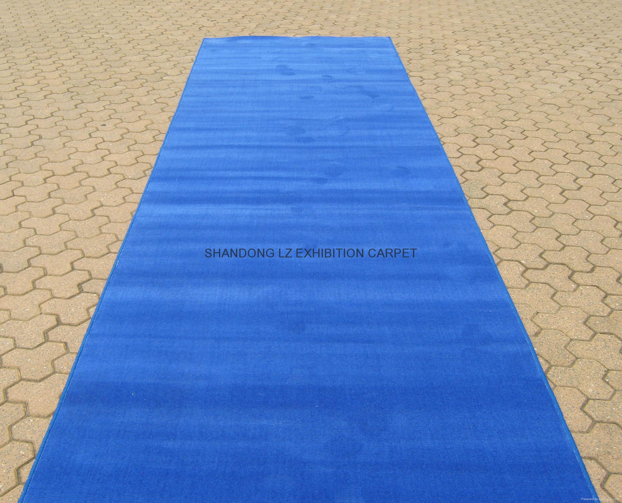 Stair Red Exhibition Carpet Runner Roll For Wedding