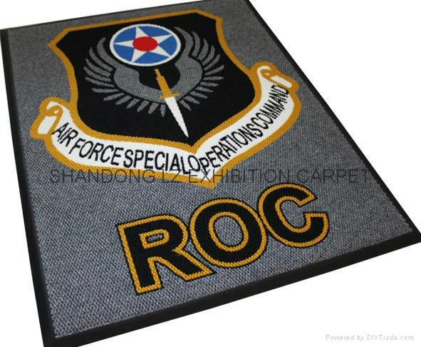 Durable Economical Price Walk Off Door Mat 100 Polyester