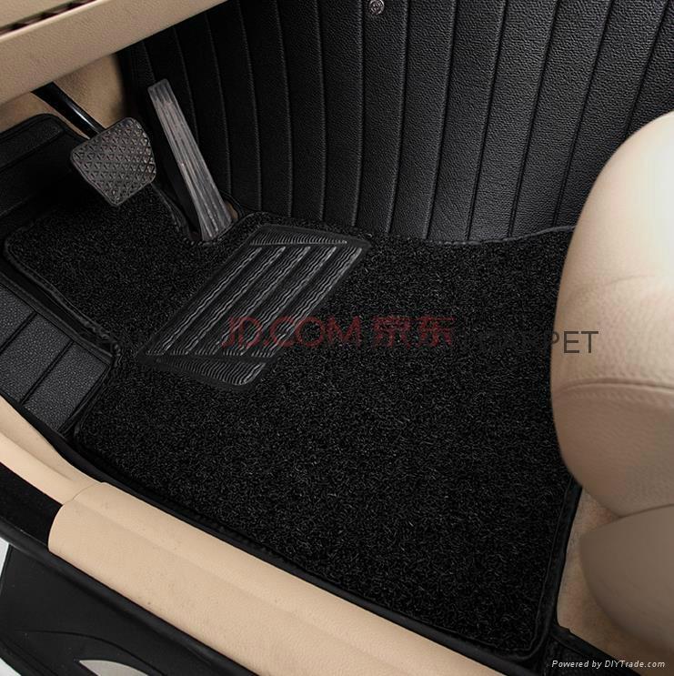 Artificial grass car mat PP+TPR 1
