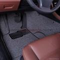 Artificial grass car mat PP+TPR 7