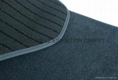 BMW OEM 4 Pcs/set carpet floor mat backing sponge with heel pad+edge binding