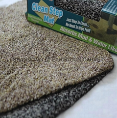 100% Cotton door mat with PVC backing