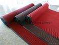 PET Tufted loop Pile PVC backing doormat