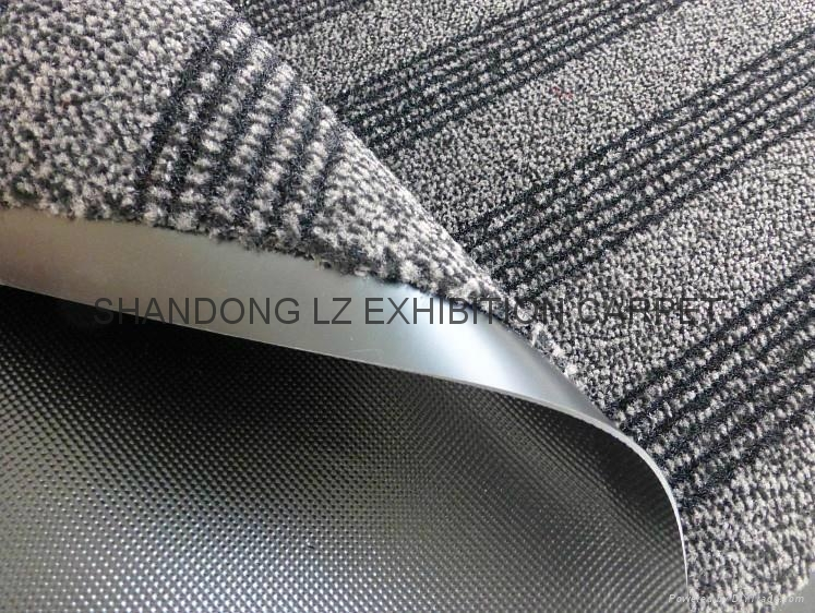 High end cut pile door mat with pvc backing china for High end carpet brands