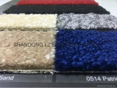 Exhibition Carpet: Velour Elegance 100% Nylon Cut pile 6mm 2*25m