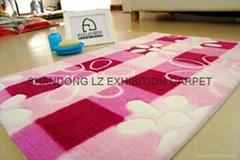 Acrylic printed rug