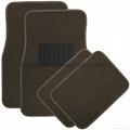 Auto Mall/ Car dealer shop supply interior accessories 4 pcs car floor mat with
