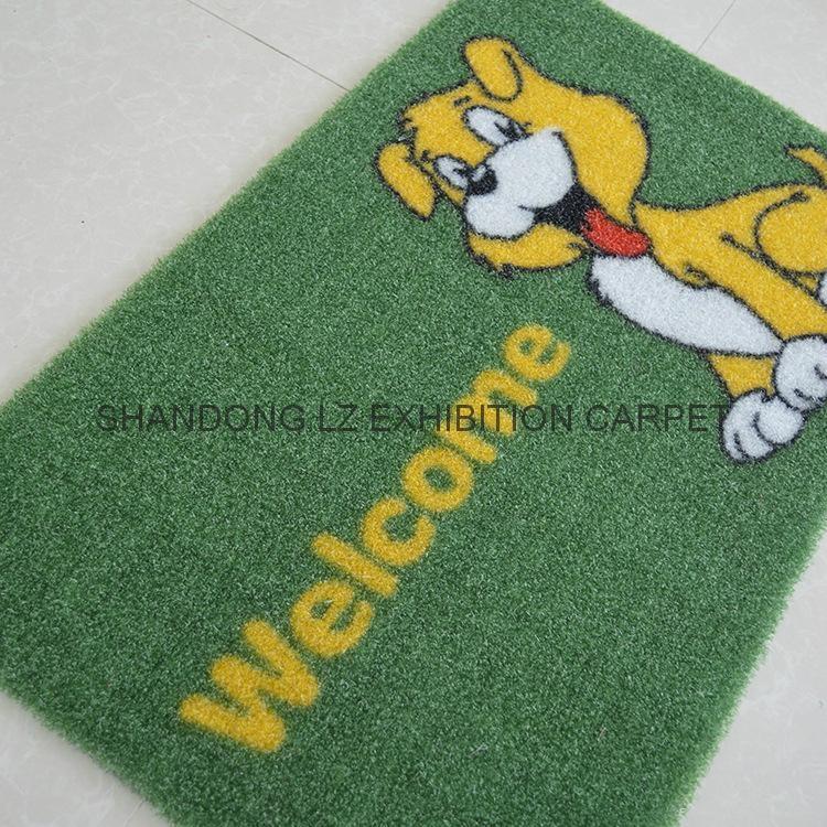 Artificial grass mat backing TPR PVC PP Cut pile 1
