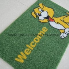 Artificial grass mat backing TPR PVC PP Cut pile