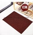 Artificial grass mat backing TPR PVC PP Cut pile 6