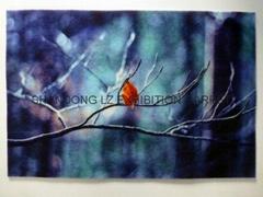 Advertising mat (Printing, laser engraved Nylon+rubber, PP+pvc)