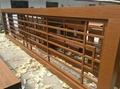 木紋金屬屏風
