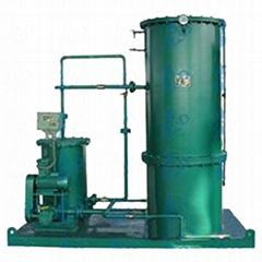 Land oil water separator
