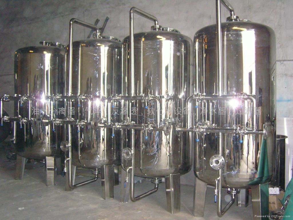 Mechanical filter(quartz sand filter,active carbon filter, 2