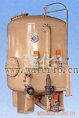 The iron and manganese removal filter for groundwater