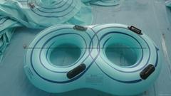 高弹PVC充气滑水圈