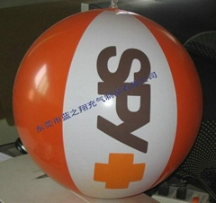 沙滩球PVC广告球