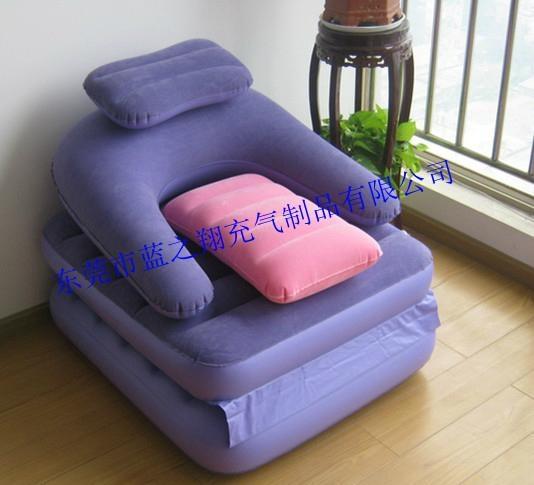 休闲懒人充气沙发 3