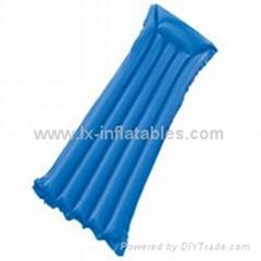 PVC充气浮排水上浮床