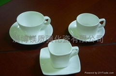 强化瓷杯碟